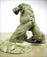 Sculpting the Hulk